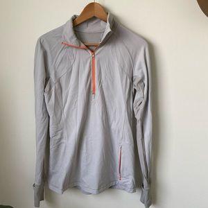 lululemon | long sleeve half zip workout top